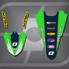 Kawasaki MX1 Fender Set