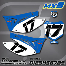 TM MX3 Number Plates