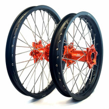 KTM Anodized Hub Wheel Set Orange