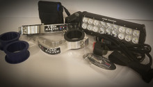 "10"" Light Bar & Factory Baja Gore Fork Mount Kit"