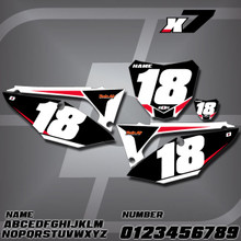 Honda X7 Number Plates