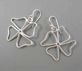 Sterling Silver Wildflower Earrings
