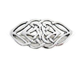 Sosi B. Sterling Celtic Hearts Knot Pin Brooch
