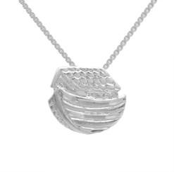 Sterling Silver Noah's Ark Pendant Necklace