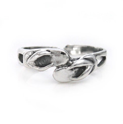 Sterling Silver Flip Flop Adjustable Toe Ring