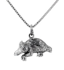 Sterling Silver Duck-Billed Platypus Necklace