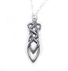 Sterling Silver Celtic Design Necklace
