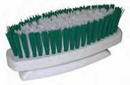 Small Medium Bristle Brush Mortar Scrub Brush (2 BRUSHES)