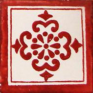 Anita TC Handcrafted Talavera Tile (4x4)