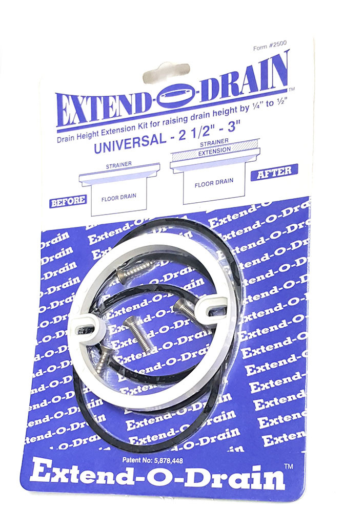 Extend O Drain 2 1 2 Quot 3 Quot Free Shipping Tile Tools Hq