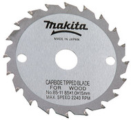 Makita 721107-6A 4-3/8-Inch 24 Tooth ATB Saw Blade with 20mm Arbor - FREE SHIPPING