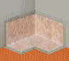 Schluter Kerdi Inside Corners 10 Pack - Bath, Shower, Waterproofing Membrane