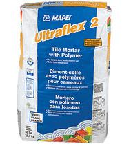 Ultraflex 2 Professional Tile Mortar w/Polymer Gray 50 lb
