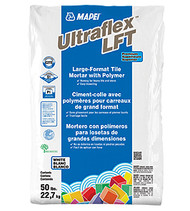 Ultraflex LFT White 50 lb Premium Large Format Tile Medium Bed
