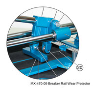 Ishii Breaker Rail Wear Protector