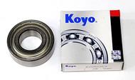 6205ZZC3 Koyo Deep Groove Bearing (25 x 52 x 15mm) - FREE SHIPPING