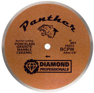 "10"" Wet Tile Blade - Panther - FREE SHIPPING"