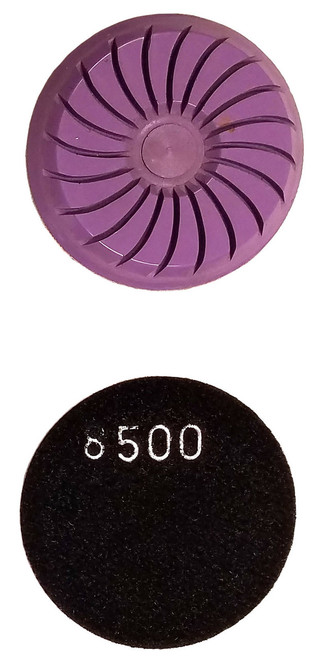 "3"" Spiral Diamond Resin Polishing Pads - Tile Tools HQ"
