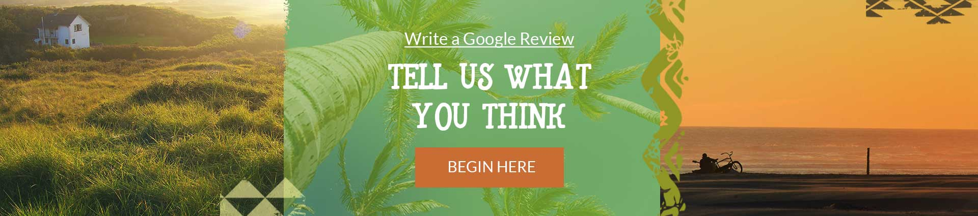 Write a review. Start by clicking here and add a Google Review for all to see.