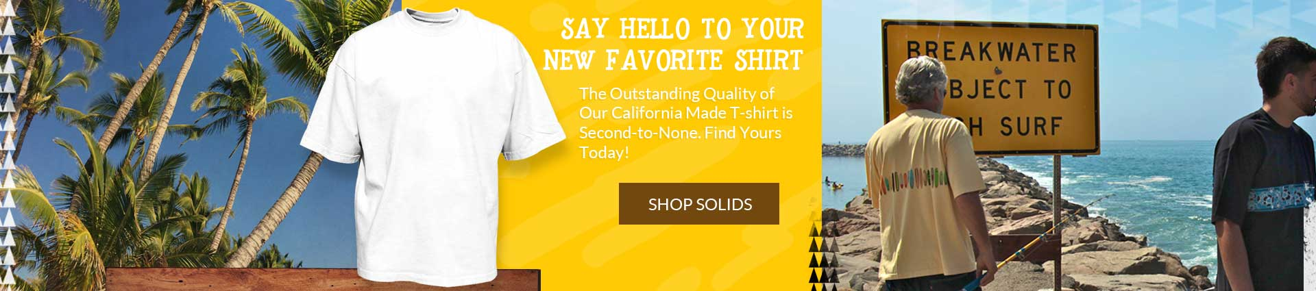 Get a blank tee made from high quality cotton. This is your new favorite t-shirt