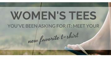 T-Shirts for Women | Made in the USA. Cozy up to comfort.