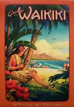 Boxed Set Vintage Art Postcards