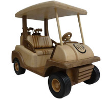 Golf Cart Wooden Replica