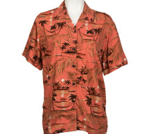 Hapuhia Moon Aloha Shirt for Women