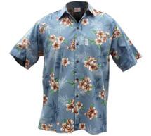 Bamboo Plumeria Hawaiian Shirt