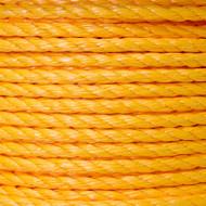 "Twisted Polypropylene Rope 1/4"""