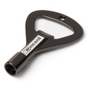 Wincent Rockkey (Drum Key/Bottle Opener), Black Chrome - WRKBBPP