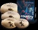 Zildjian K Country Cymbal Pack - K0801C
