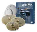 Zildjian Low Volume Quiet Pack w/ Remo Silent Stroke Drumheads - LV468RH