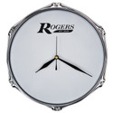 "Rogers 10"" Drum Clock with Wall Mount - RA-CLOCK"