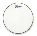 """Aquarian - CC22WH - 22"""" Classic Clear Bass Drum Gloss White"""