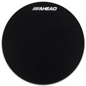 "Ahead - AHSHPT - Black Carbon Fiber Replacement Top w/ Adhesive, Clear Impact Pad (Fits 14"" S-Hoop Marching Pad)"