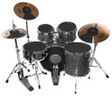 "Ahead - ADS-FUS - Drum Silencers ""FUSION PACK "" - 10"", 12"", 14"", 14"", BD20, C16, C20, HH14 - (Drum Set Not Included)"