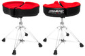 "Ahead - SPG-R - 18"" Spinal G Saddle Red Cloth Top/Black Sides, 4 Leg Base"
