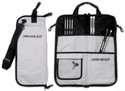 Ahead Bags - SB3 - Deluxe Stick Case (Gray With Black Trim, Plush Interior)