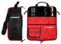 Ahead Bags - SB4 - Deluxe Stick Case (Black With Red Trim, Red Interior, Plush Interior