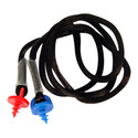 Ahead - ACMEL - Ahead Custom Molded Earplug Lanyard with Self-Taping Handles, Color Coded Left & Right