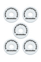 CYMPAD Chromatics Set 40/15mm WHITE (5-pieces) Crash