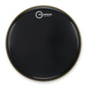 "Aquarian - CC18BBK - 18"" Classic Clear Bass Drum Gloss Black"