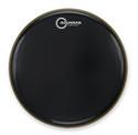 """Aquarian - CC24BK - 24"""" Classic Clear Bass Drum Gloss Black"""