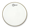"Aquarian - CC24WH - 24"" Classic Clear Bass Drum Gloss White"