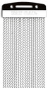 """Fat Cat Snares 13""""x 20 Strand Classic Steel w/Pitch Nickel Plated"""