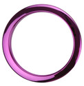 "Bass Drum O's - 4"" Purple Chrome Drum O's"