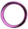 """Bass Drum O's - 4"""" Purple Chrome Drum O's"""