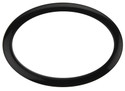 """Bass Drum O's - 6"""" Black Oval"""