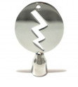 Lightning Bolt Drum Key, Stainless Steel